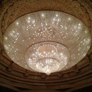 traditional big chandelier