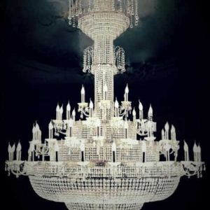 traditional big chandelier