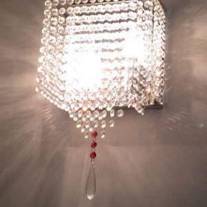 wall crystal chandelier