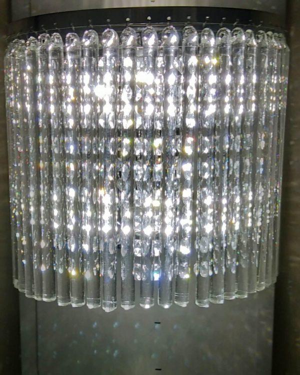 wall crystal chandelier