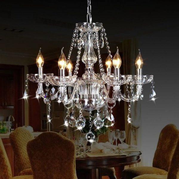 European chandelier
